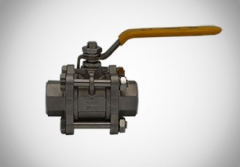 3PC Ball Valve With Locking Device